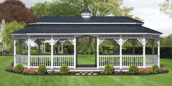 Gazebos Pavilions Pool Houses in PA Lakeview Sheds