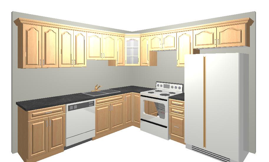 Cabinets 10 Kitchen X 10