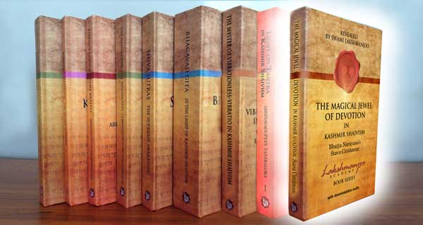9 book series on Kashmir Shaivism by Swami Lakshmanjoo