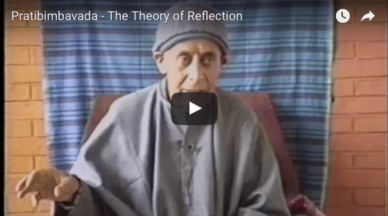 Pratibimbavada, the theory of reflection