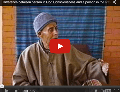 Difference between person in God Consciousness and a person in the state of ignorance