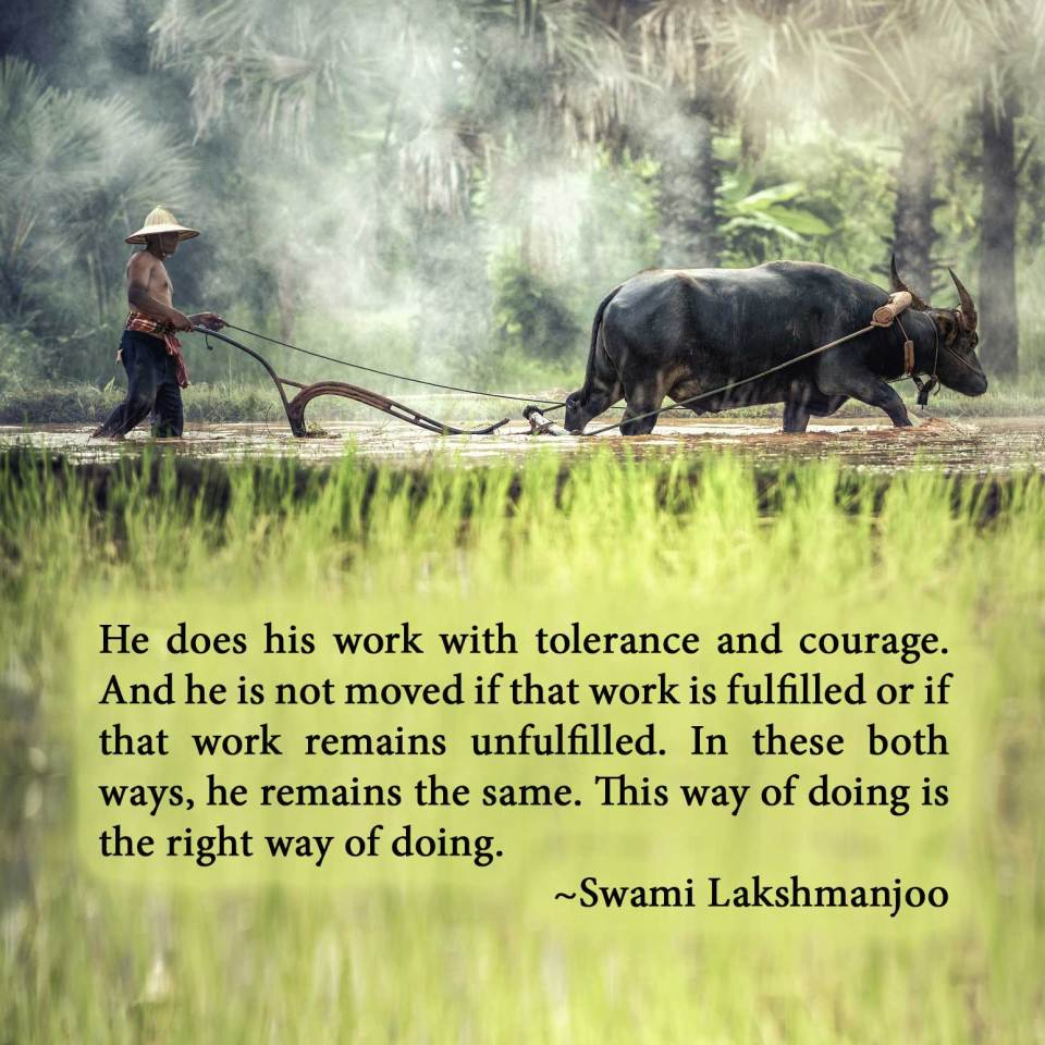 Three types of actions and three types of doers in Kashmir Shaivism
