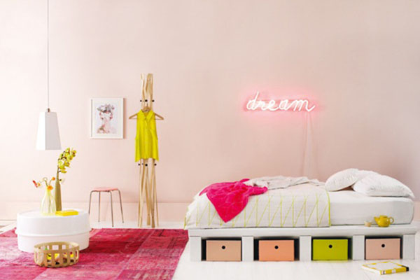 yellow + pink | La La Lovely