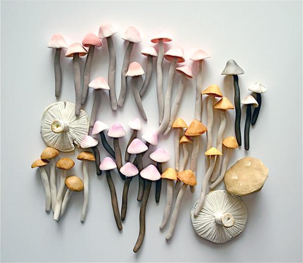 candy mushrooms via la la lovely