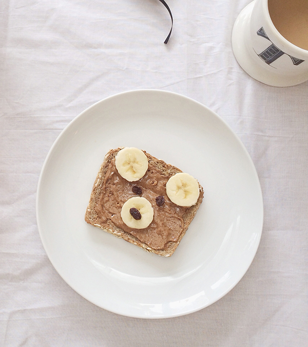 Teddy Bear Toast | La La Lovely Blog