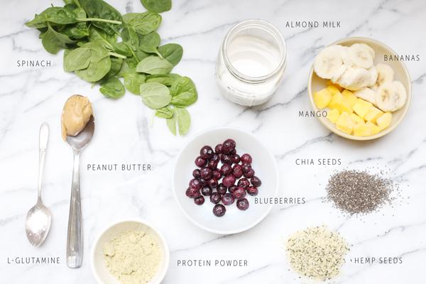 Power Packed Morning Smoothie Recipe | La La Lovely Blog