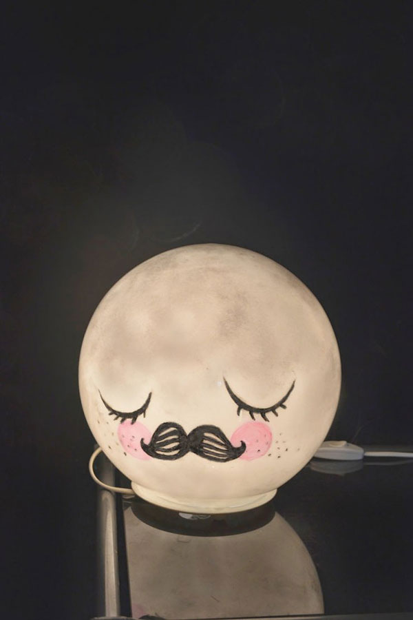 Moon Lamp Ikea Hack