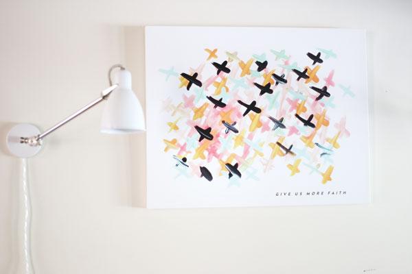 Have More Faith #Art | La La Lovely Blog