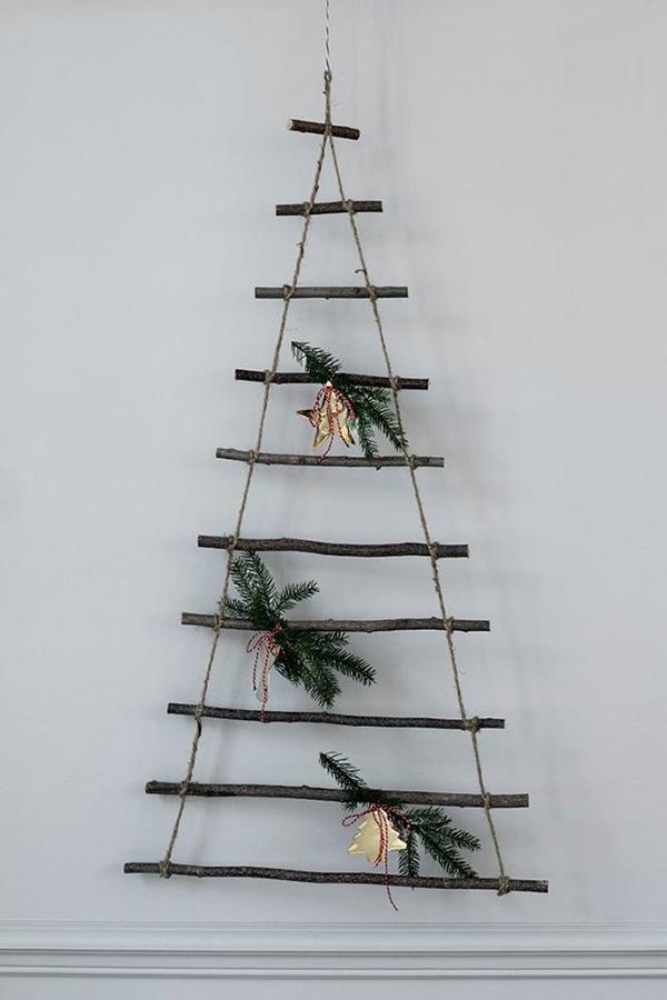 Christmas Tree Idea via La La Lovely Blog