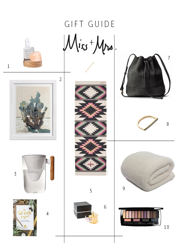 Miss + Mrs. Gift Guide 2015   La La Lovely