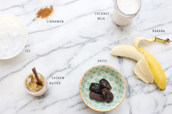 Date Shake Smoothie Recipe | La La Lovely Blog