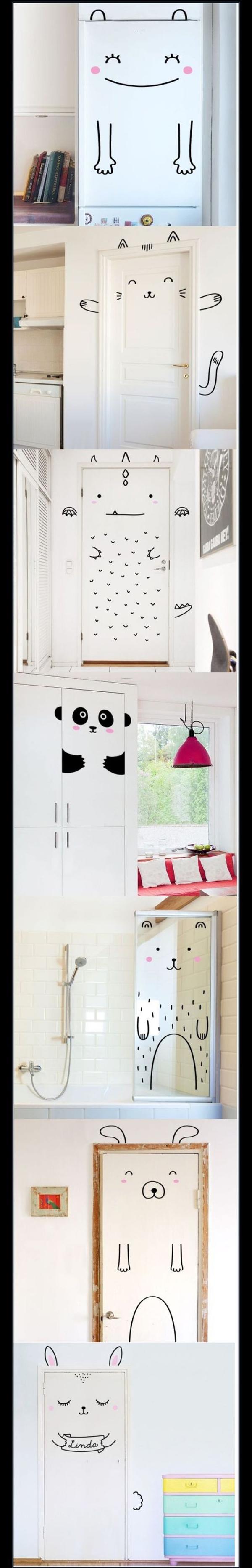 Painted Doors | La La Lovely