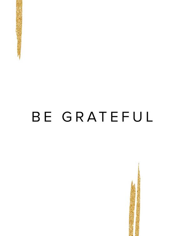 On Being Grateful