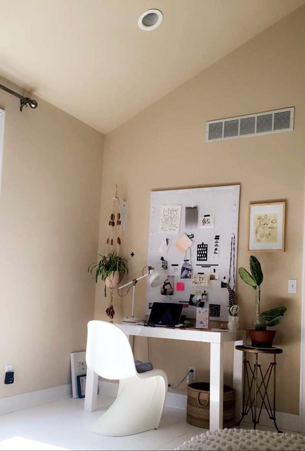 La La Lovely Office Before