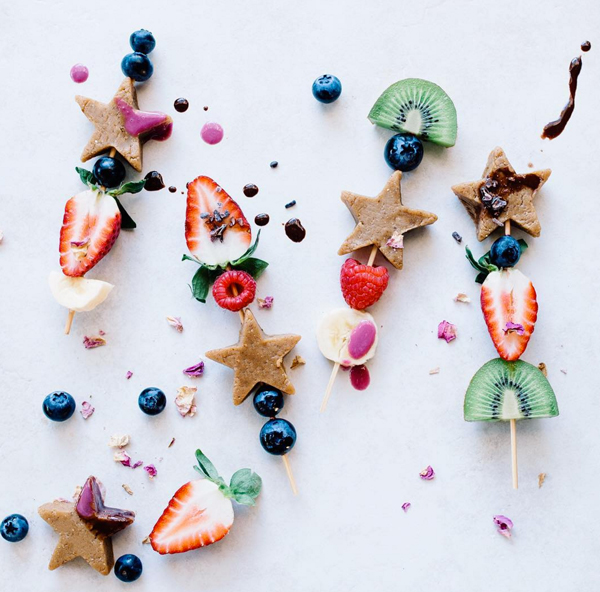 La La Loving Fruit Kabobs