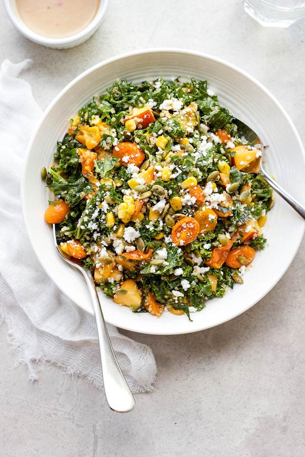 La La Loving Kale + Quinoa Salad