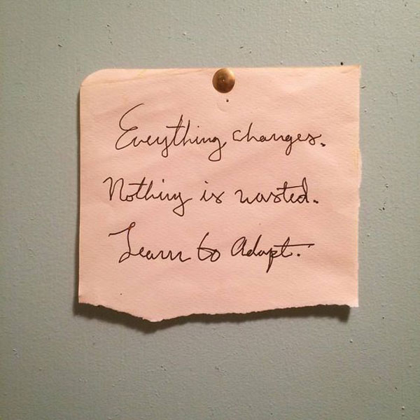 La La Loving   Nothing is Wasted Quote