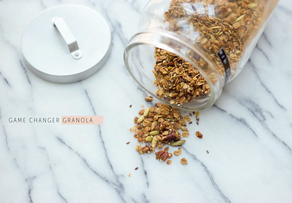 Game Changer Granola Recipe | La La Lovely Blog