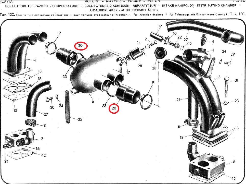 Carburetors & Exhausts,Air Filter : :: LALANCIA.COM