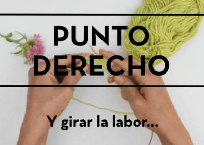 PUNTO DERECHO Y GIRAR