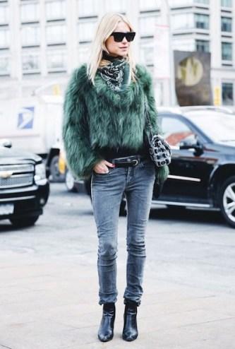 bandana-street-style-trend-celine-sunglasses-fox-fur-coat