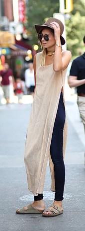 vestido com calça 11