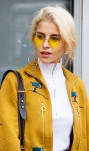 óculos de sol lente colorida tendência 2018 3