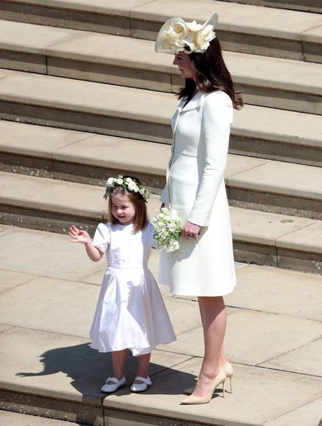 Kate Middleton e Princesa Charlotte