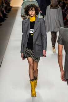 fendi-fall-2018-runway-logo-sweater-skirt-blazer-yellow-cowboy-boots