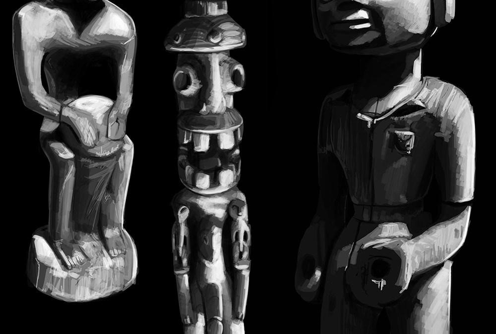 Clair-Obscur Statuettes