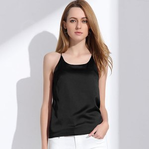 Silk Halter Top Women Camisole