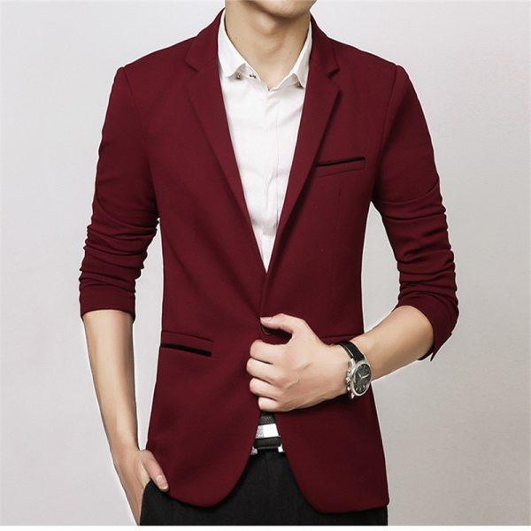 Luxury Men Blazer