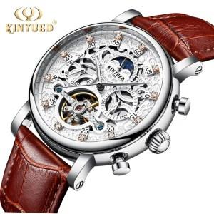 Skeleton Automatic Watch Tourbillon Mechanical Watches