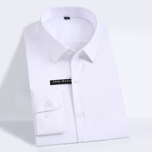 Bamboo Fiber Dress Shirts Comfortable Soft Shirt