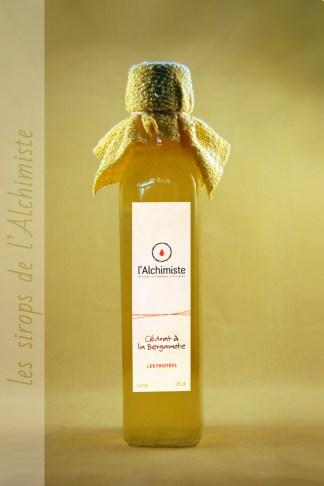 Sirop artisanal Cédrat à la Bergamotte