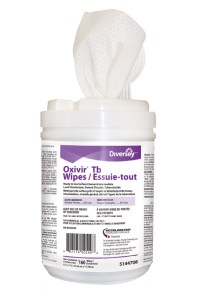 Ready-to-Use Disinfectant Wipes Oxivir TB   #JHUN5144708 ...