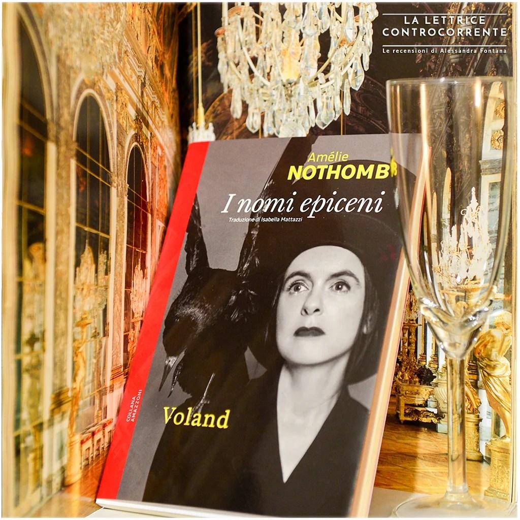 RECENSIONE:  I nomi epiceni (Amélie Nothomb)