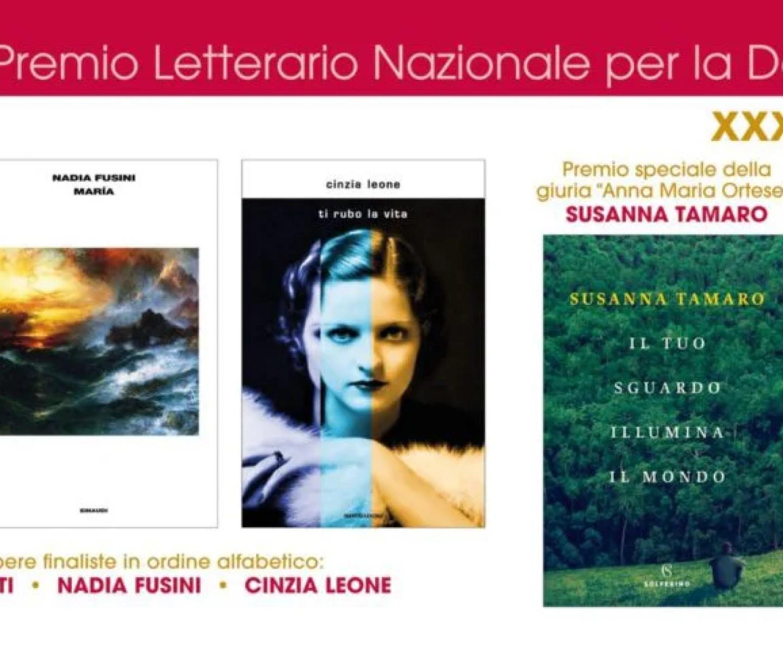 Le finaliste del premio Rapallo per la donna scrittrice 2019