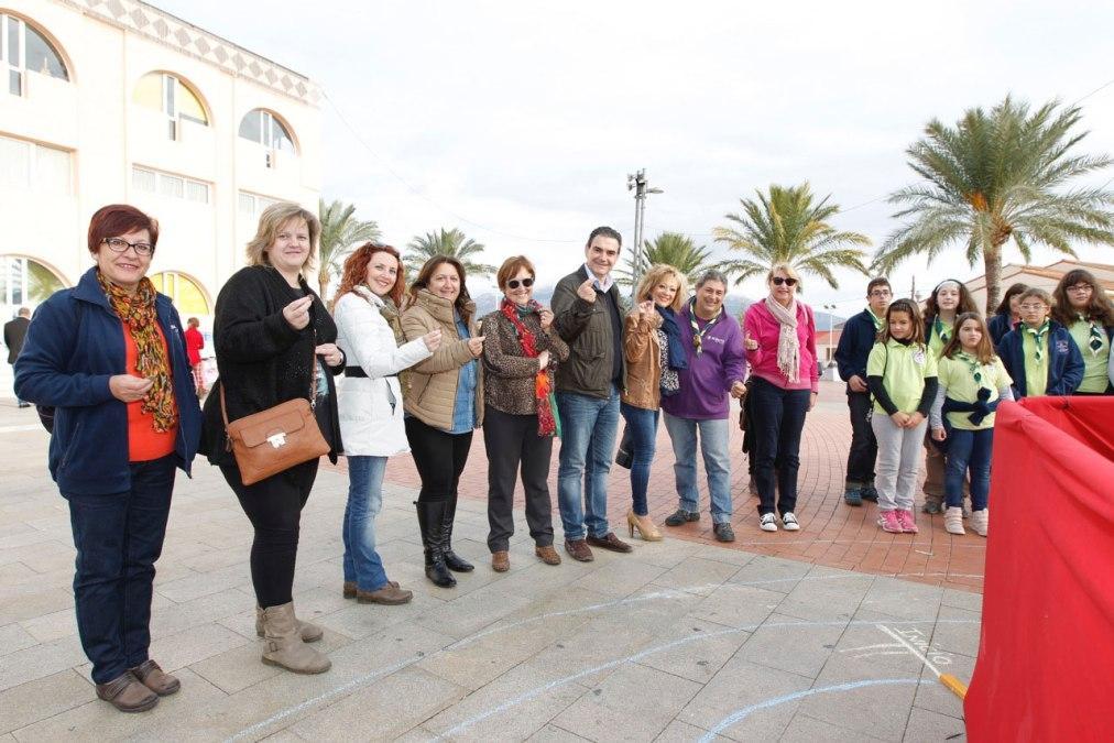 El Grupo Scout Iradier de l'Alfàs del Pi dona a Anémona el dinero recaudado con la Espiral Solidaria del Euro