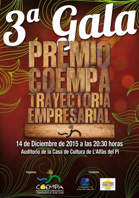 Coempa entrega el próximo lunes los Premios a la Trayectoria Empresarial