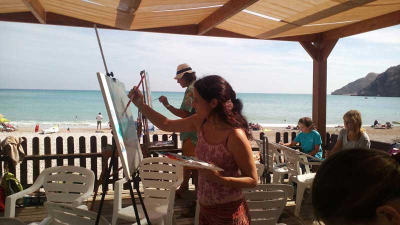 Más de 20 pintores se dan cita en el sexto encuentro que organiza ArtAvant