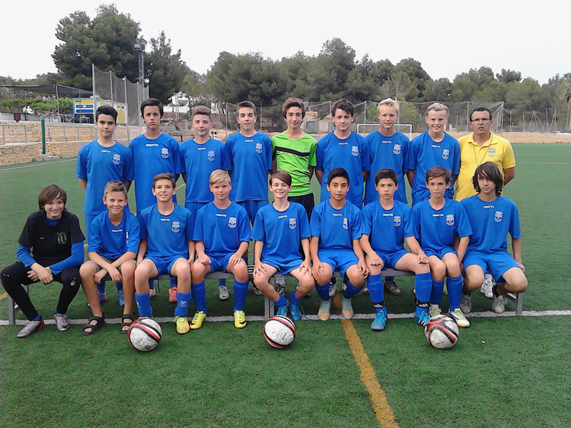 El equipo infantil CF l'Alfàs del Pi será campeón de liga es sábado si consigue un empate  ante el Gorgos CF este sábado.