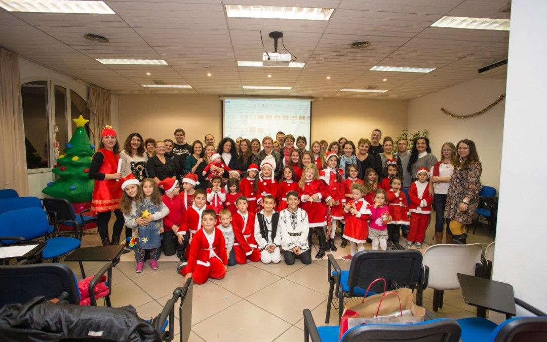 Fiesta de Navidad para los alumnos del curso de Lengua, Cultura y Civilización Rumana