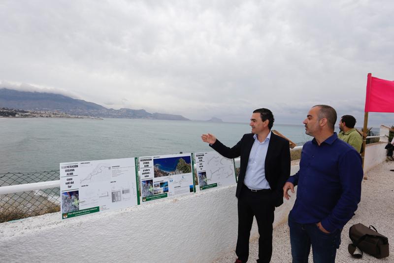 El Ayuntamiento de L'Alfàs del Pi prohibirá el acceso de embarcaciones a la Cala de la Mina