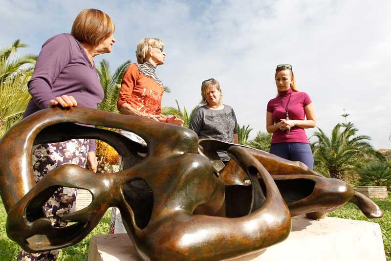 Acto en conmemoración de los difuntos el próximo 1 de noviembre en el Jardín Escultórico Klein Shreuder