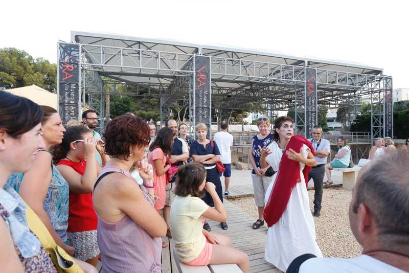 El Museo al Aire Libre Villa Romana de l'Albir inicia hoy su horario estival