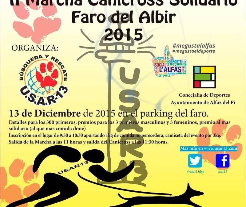 El próximo domingo se celebra la II Marcha Canicross Solidario Faro de l'Albir
