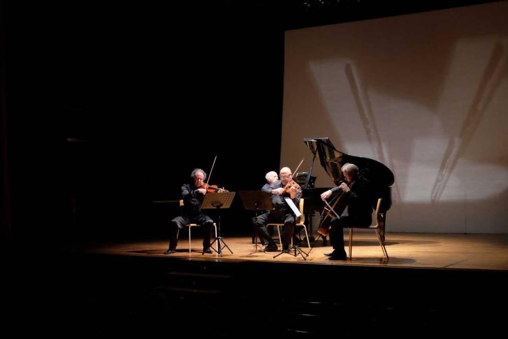 Concierto de Bruno Canino y Beaux Arts String Trio en la Casa de Cultura de l'Alfàs