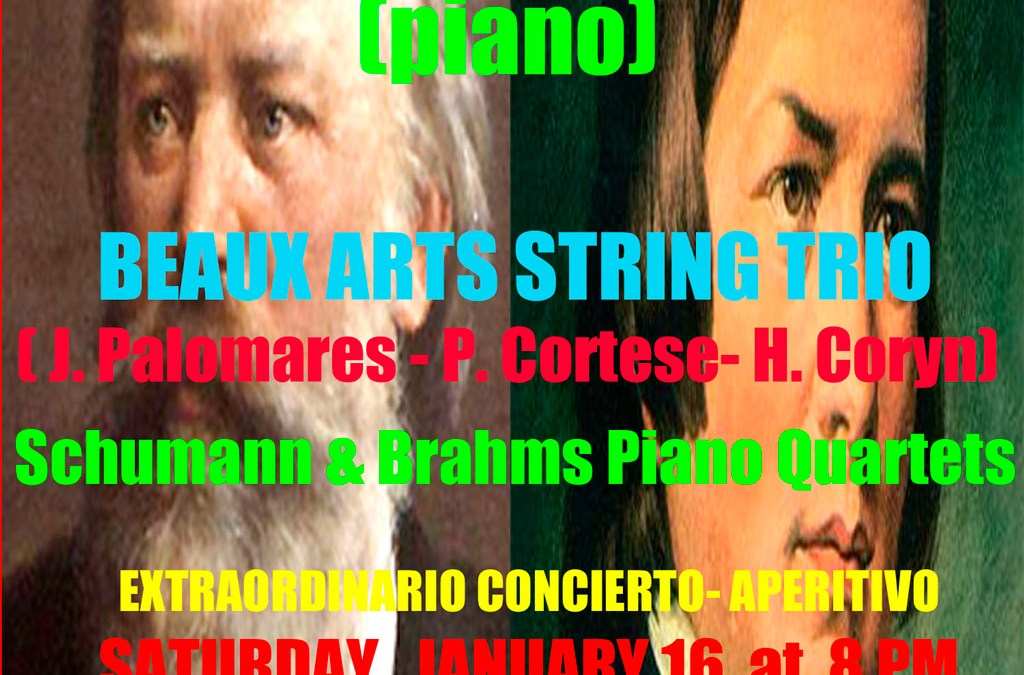 Arranca la programación de 2016 de la Sociedad de Conciertos de Música Clásica de l'Alfàs del Pi