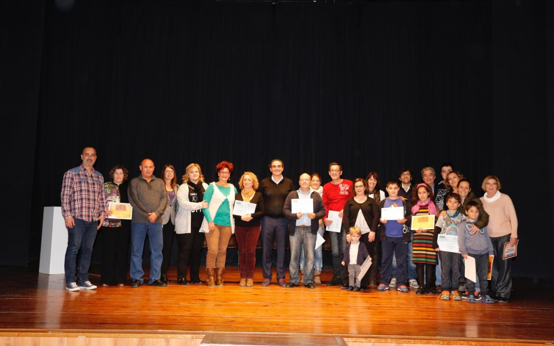 Entregados los premios de los concurso de Belenes, árboles de Navidad y escaparates navideños